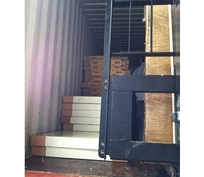 出口裝柜冷庫板